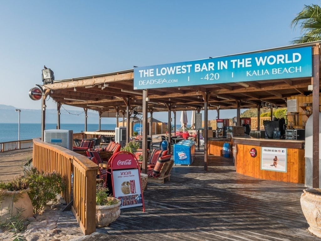 Dead Sea Kalia Beach Bar