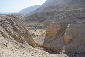 Qumran Caves Dead Sea