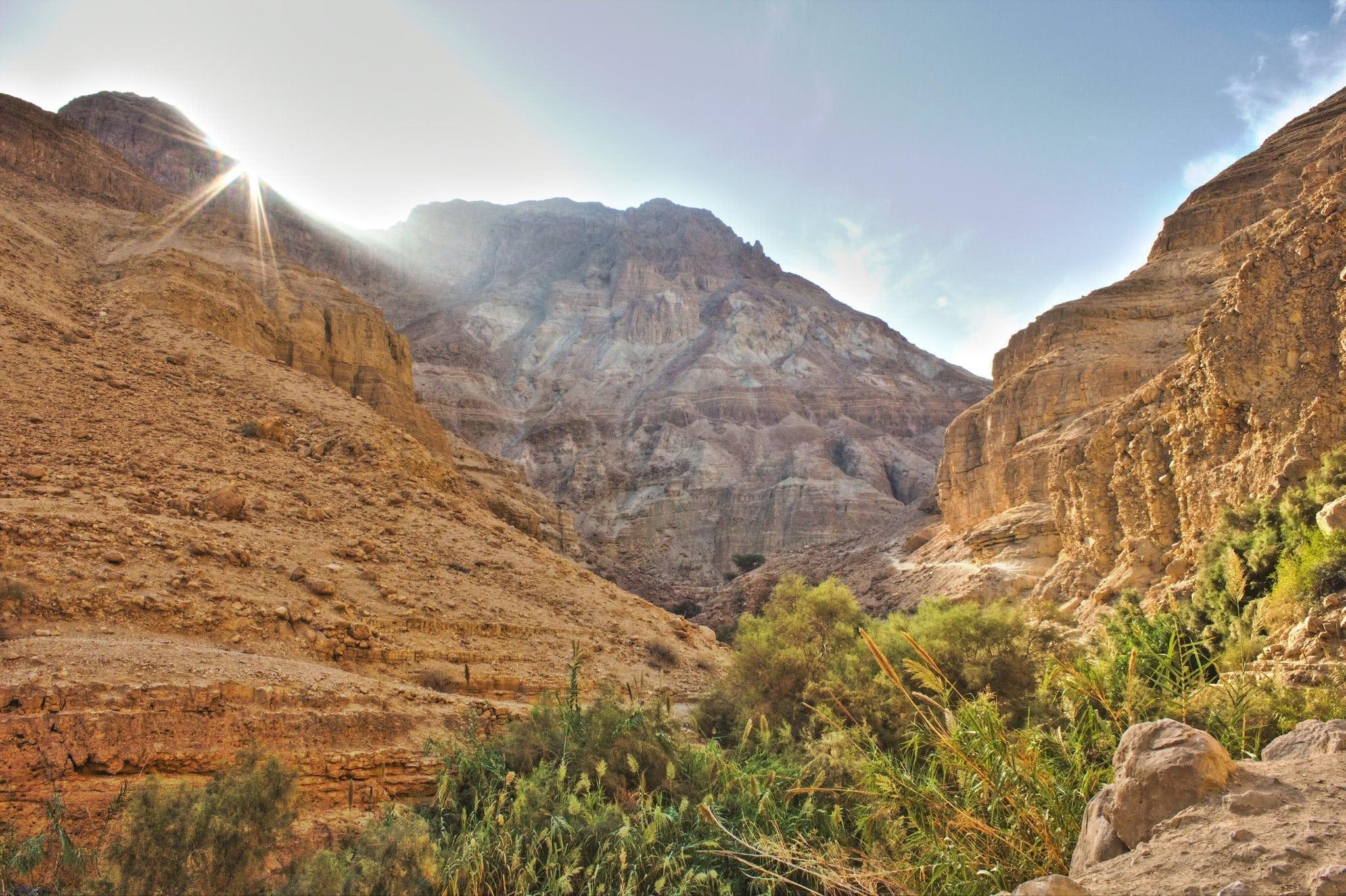 Nahal Arugot Hike