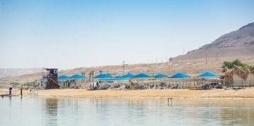 Ein Bokek beach Dead Sea