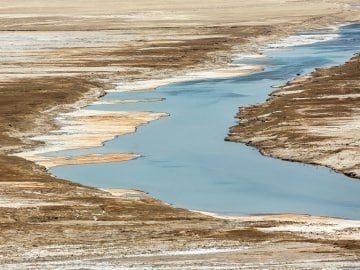 Dead Sea is drying up