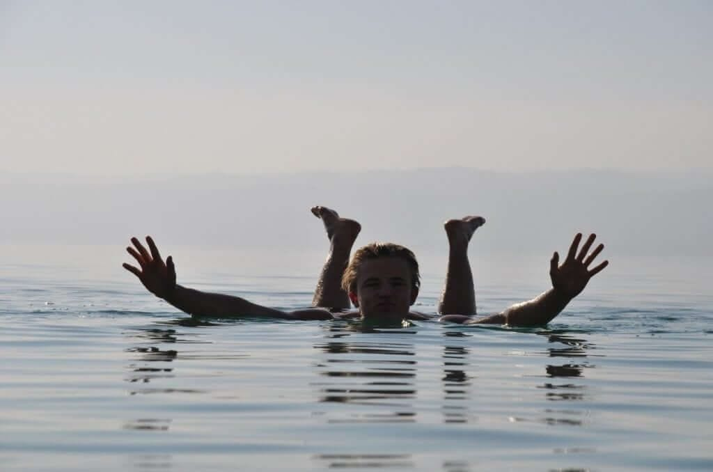 Dead Sea Floating