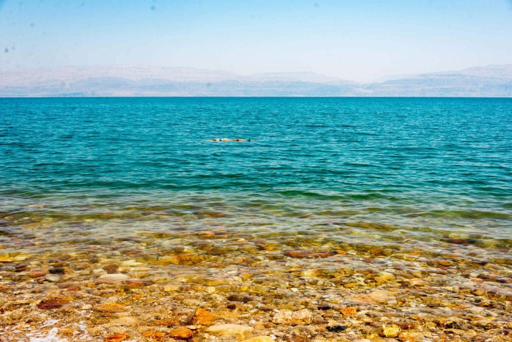dead sea temperature