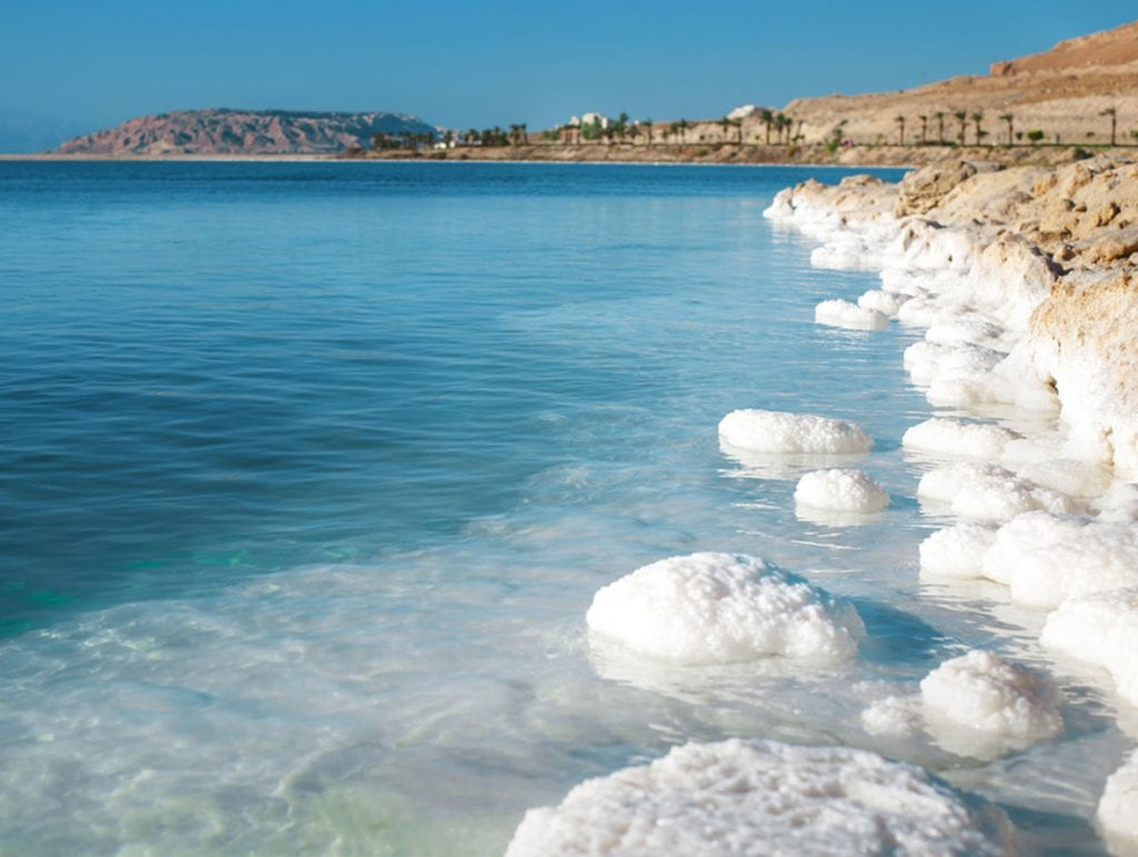 Dead Sea Salt lake