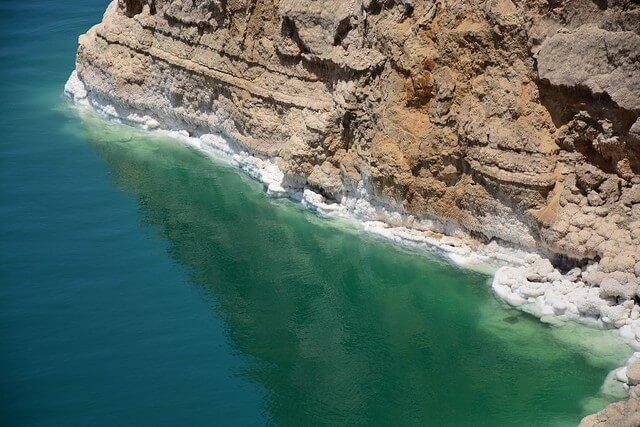 Dead Sea salt waters