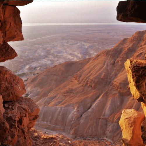 Masada hiking trail