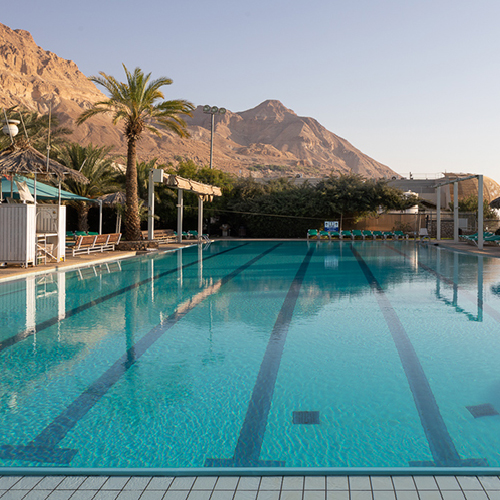 Dead sea swimming pool