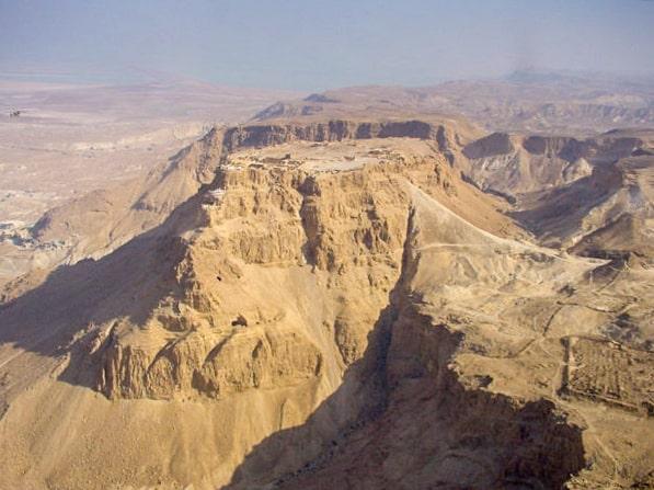 the masada mountain plateau