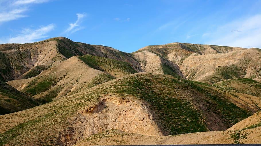 panoramic view of Israel's northern mountain range
