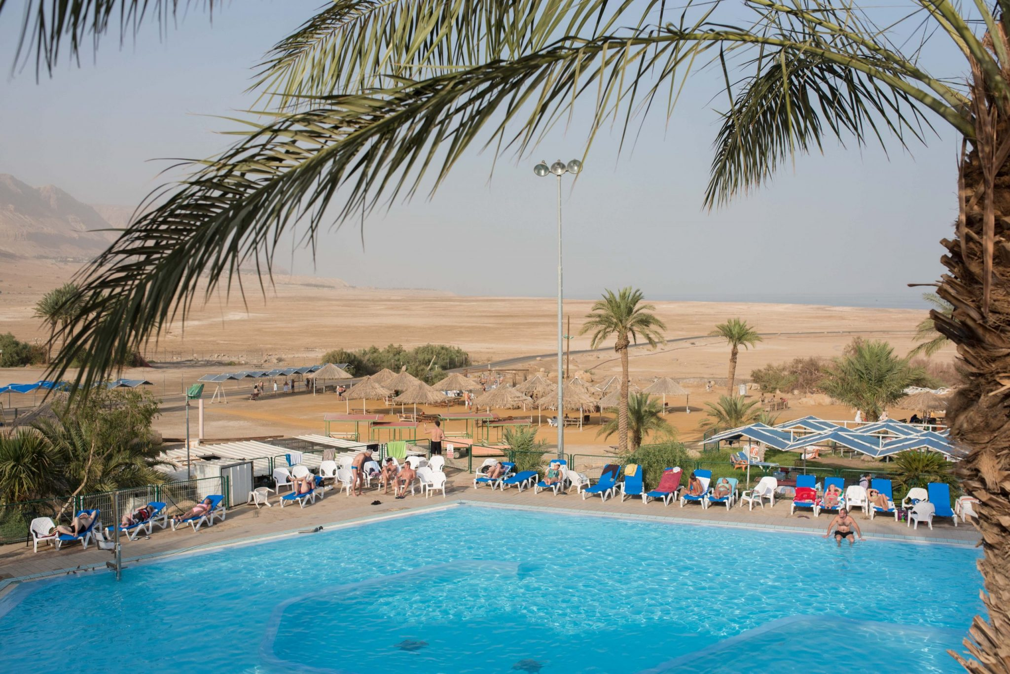 Ein Gedi Beach Swimming Pool