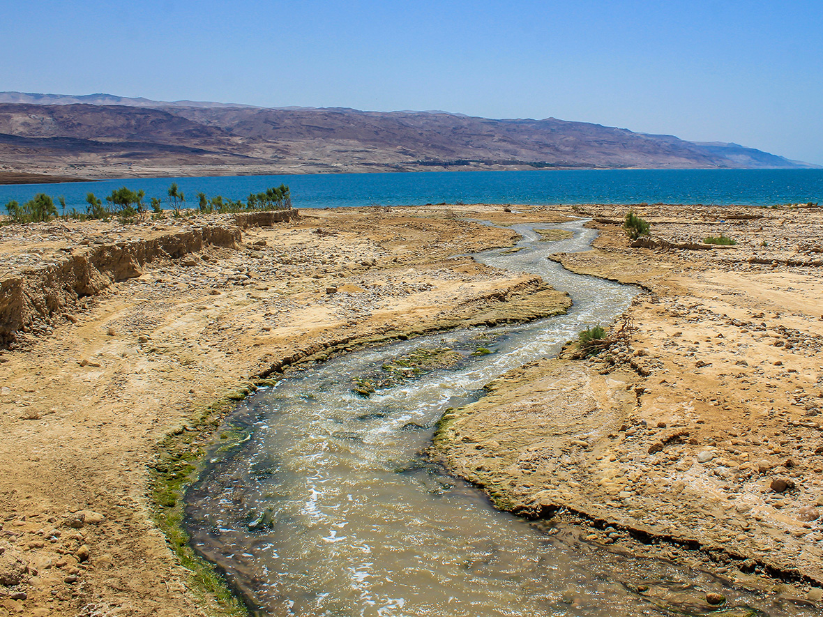 River that feeds the Dead Sea